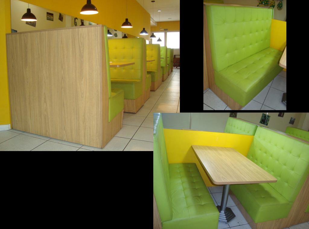Booths e Mesas Retangulares 2