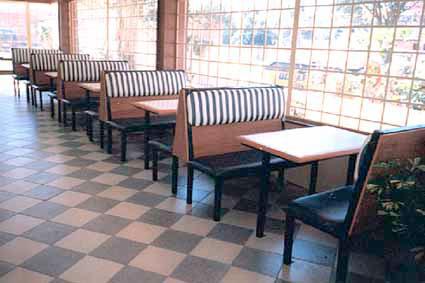 Sof 225 Booth Para Restaurante